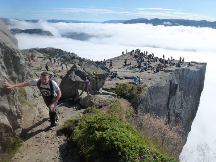 Смотровая площадка для тех, кто не боится высоты (23 фото)
