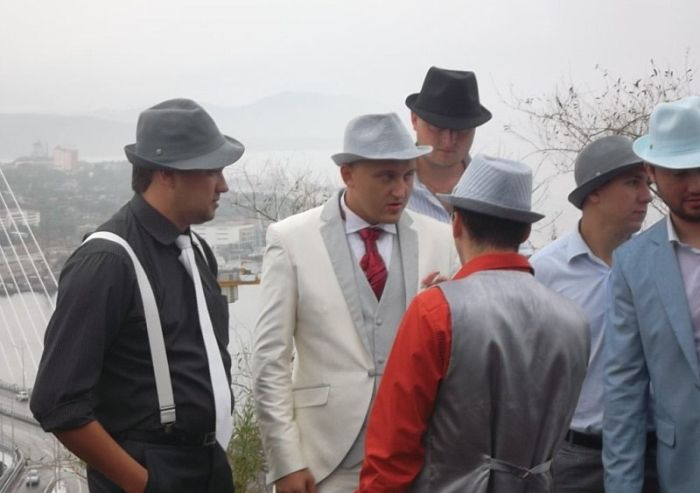 Свадьба в стиле 30х годов (14 фото)
