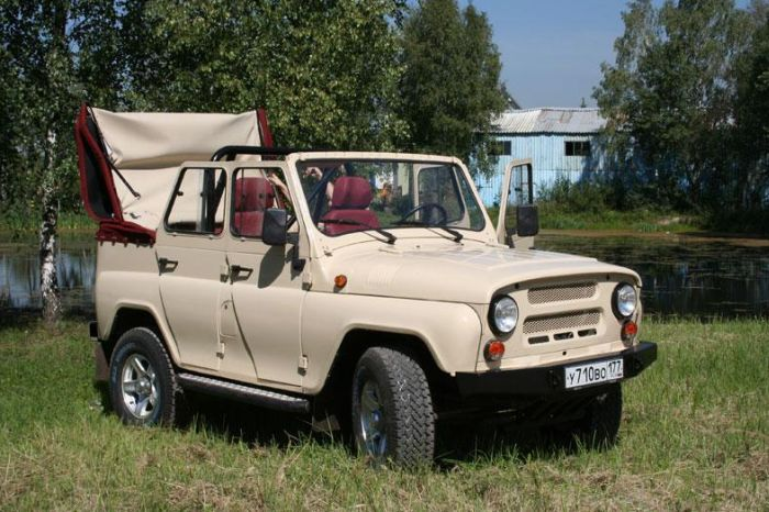 Тюнинг отечественного внедорожника УАЗ (40 фото)