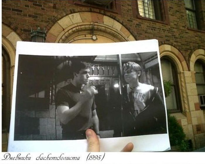 Снимки в местах съемок фильмов (32 фото)