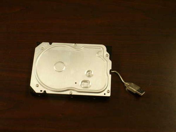 Портативный жесткий диск своими руками (6 фото)