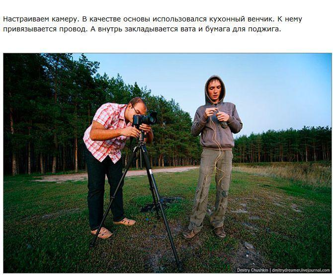 Как сделать яркие искры на снимке (14 фото)