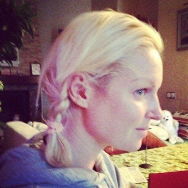 Снимки Анастасии Волочковой без макияжа (4 фото)