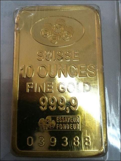 Как производят поддельные золотые слитки (4 фото)