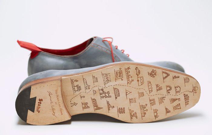 """Креативные ботинки с функцией """"автопилот"""" (11 фото)"""