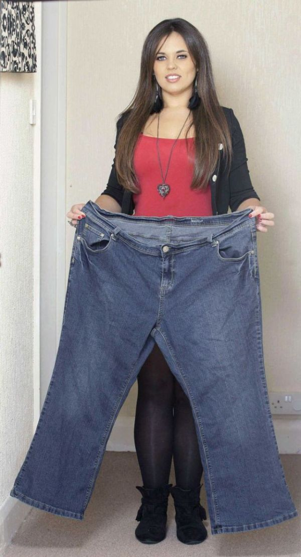 Мотивирующая история удивительного похудения (11 фото)
