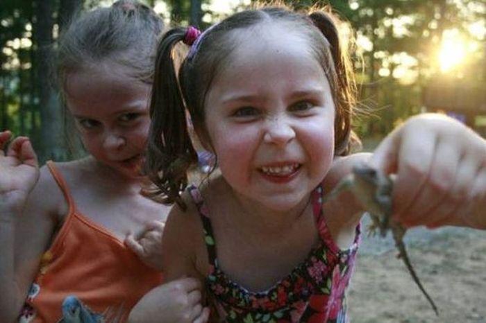 Смешные снимки с детьми (31 фото)