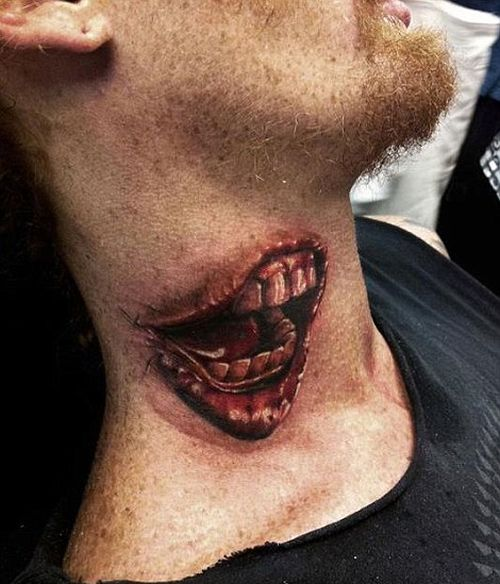 Удивительно реалистичные татуировки (21 фото)