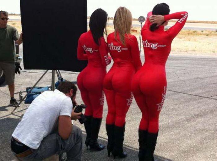 Девушки с большими попами (52 фото)
