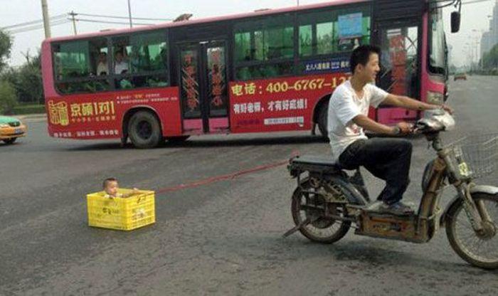 Забавные снимки из Азии (43 фото)
