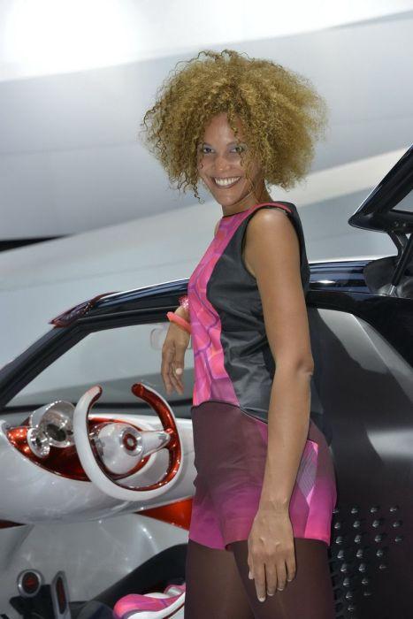 Девушки с Парижской автовыставки 2012 (101 фото)