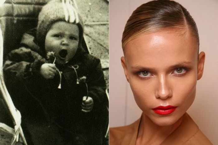 """Известные топ-модели """"тогда и сейчас"""" (11 фото)"""