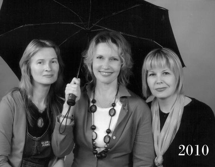 Женская дружба сквозь годы (15 фото)