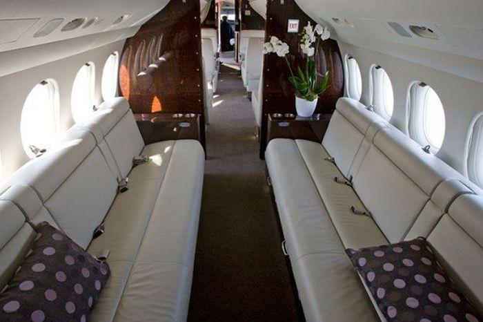 Pahalı Özel Uçak İç Görünümleri (25 Fotograf)