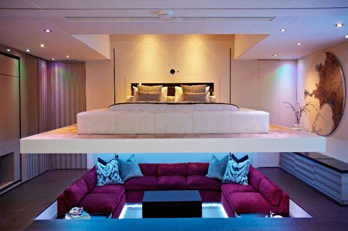 Невероятный дизайн спальни (6 фото)
