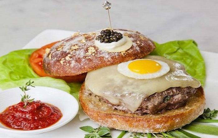 ТОП-10 самых необычных и дорогих гамбургеров (10 фото)
