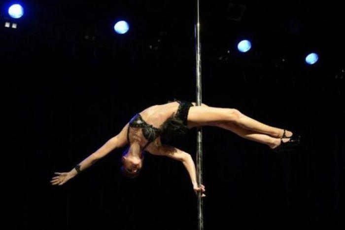 Состязание лучших танцовщиц Pole Dance в Нью Йорке (35 фото)