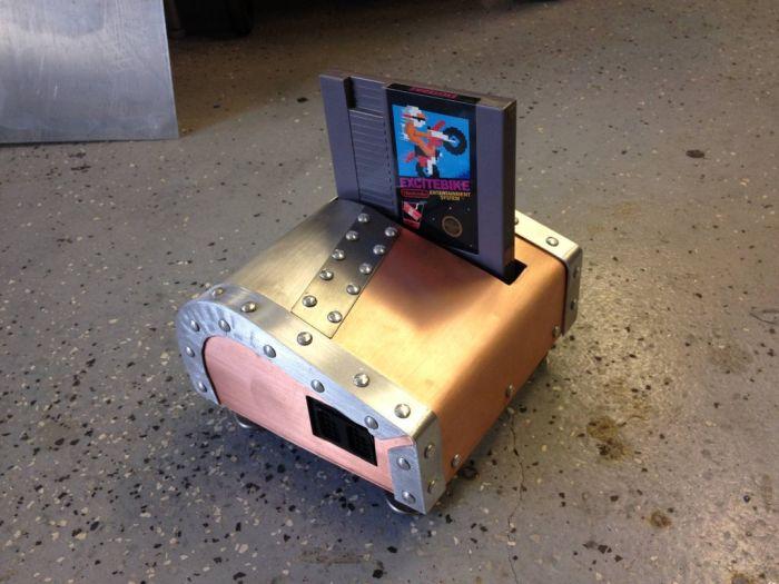 Стипанк моддинг приставки Nintendo (13 фото)