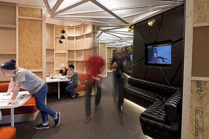 YouTube открыл шикарный офис-студию в Лондоне (21 фото)