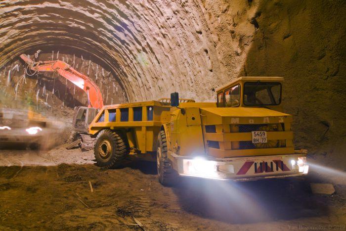 Как строят новые тоннели в Сочи (31 фото)