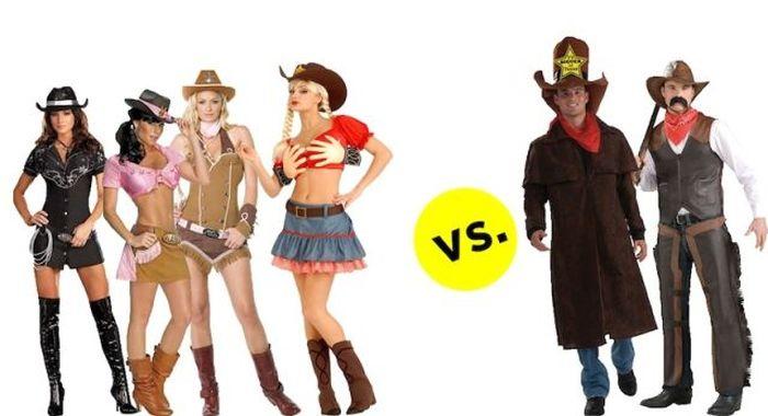 Чем отличаются мужские костюмы для ролевых игр от женских (22 фото)