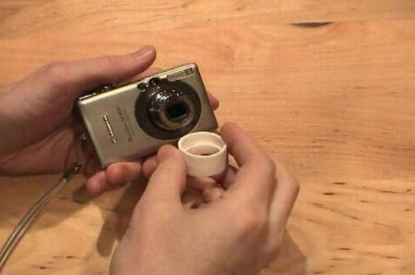 Дверной глазок вместо дорогого объектива (7 фото)