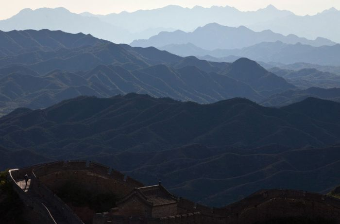Великая Китайская стена уже не та (37 фото)