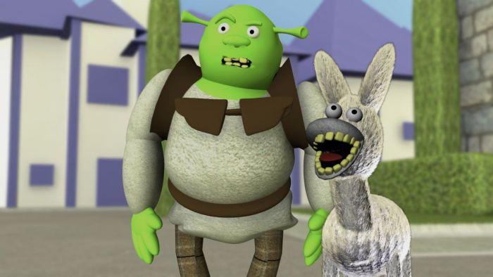 Персонажи мультфильмов, нарисованные за полчаса (34 фото)