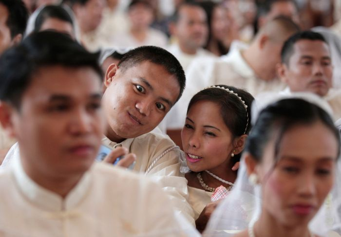 Свадебные традиции разных стран мира (45 фото)