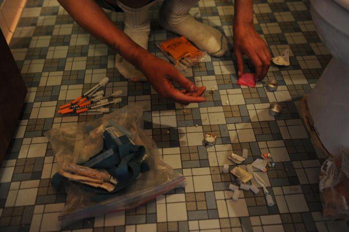 Разбитые мечты наркоманов на улицах Денвера (67 фото)