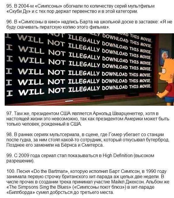 """Интересные факты о мультфильме """"Симпсоны"""" (27 фото)"""