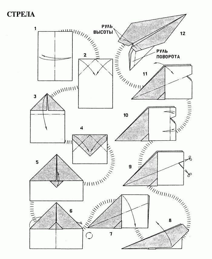 1 Разные модели бумажных