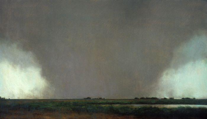 Сногсшибательные рисунки мощных торнадо (54 рисунка)