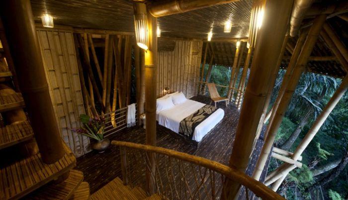 Casa de bambú en Bali