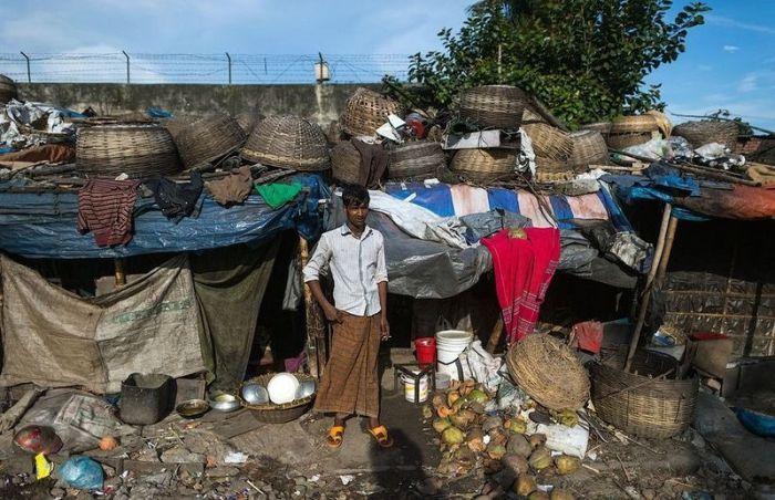 Vie des pauvres au Bangladesh (30 photos)