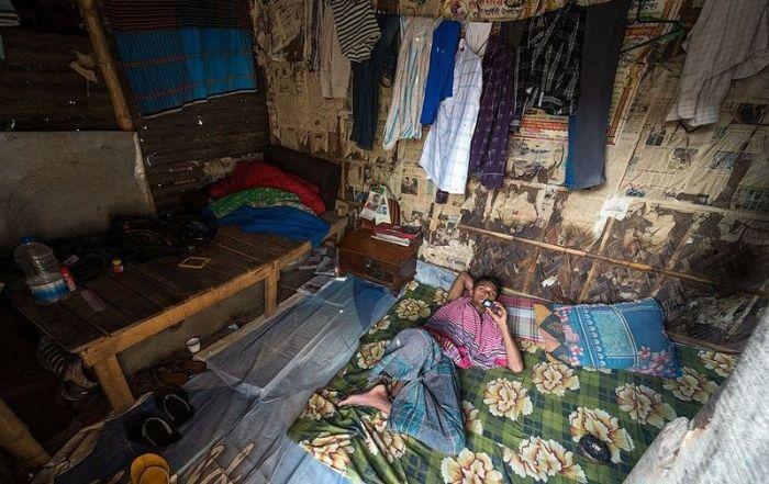 Жизнь бедняков в Бангладеше (30 фото)