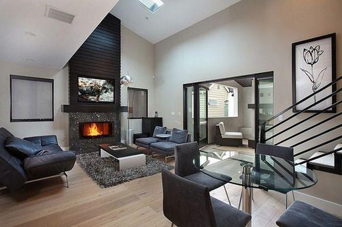 Elegantes interiores de dise o de casas y apartamentos for Diseno interior departamento