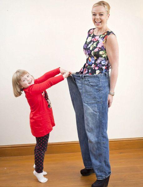 История похудения пышной домохозяйки (9 фото)