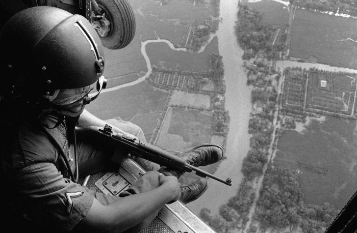 Tüm Görkemi ile Vietnam Savaşı (36 Fotograf)