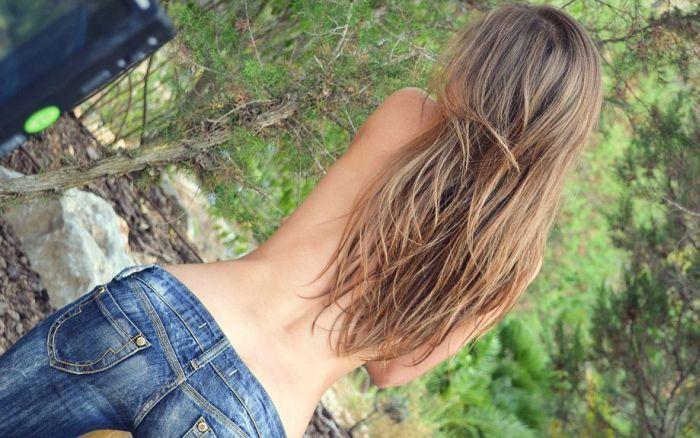 Девушки фото со спины реальные