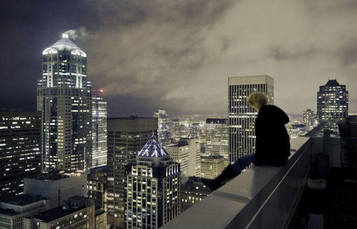 Бесстрашные экстремалы не боятся высоты (26 фото)