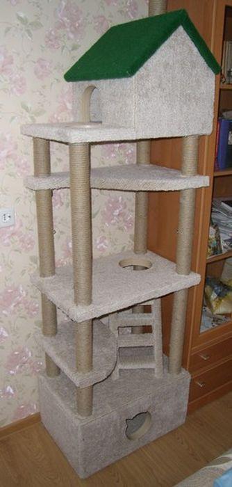 Сделать домик для котика