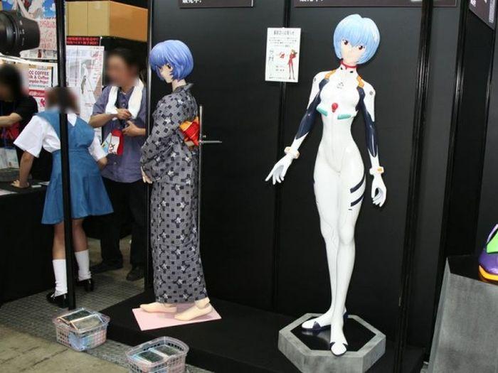 Куклы из японского аниме и фэнтези (39 фото)