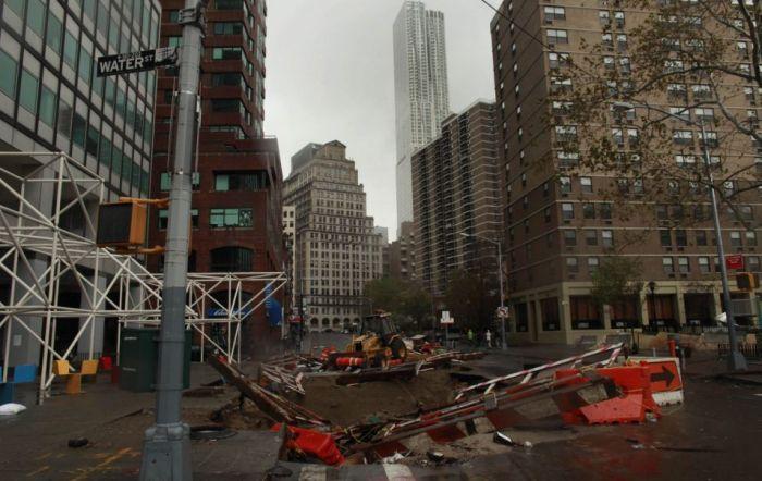 Разрушения отурагана «Сэнди» (173 фото)