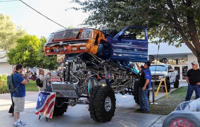 camionetas modificados: