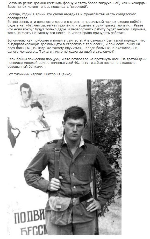 Классификация советской армии на примере знаменитых людей (7 фото)
