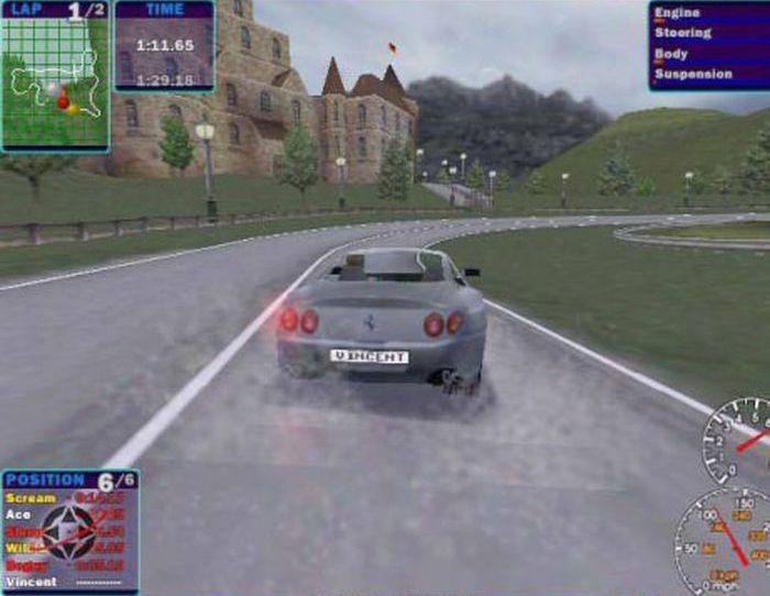 Как совершенствовалась графика игры Need For Speed (18 картинок)