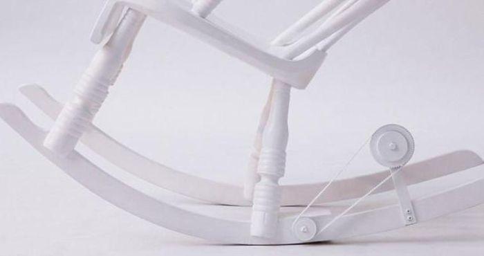 Крутое кресло-качалка для фанатов IPad или iPhone (5 фото)