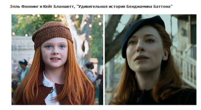 Актеры, которые играют известных персонажей в молодости (15 фото)