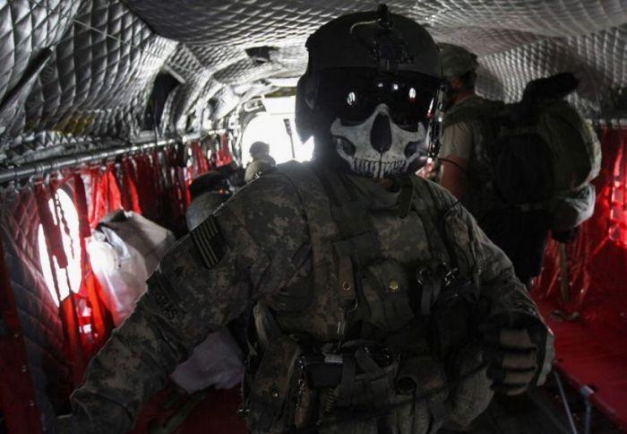 Как камуфляж скрывет солдат и технику от врага (84 фото)